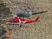 Alouette lll V-238 und Agusta A 109 K2 der REGA