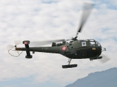 Alouette lll V-259 Feldpost Spezialmarkierung