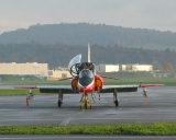 BAe Hawk Mk 66 U-1258 mit AIM-9 mit Sidewinder