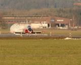 BAe Hawk Mk 66 Landung in Emmen