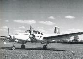 Beechcraft E-50 Twin Bonanza HB-HOW