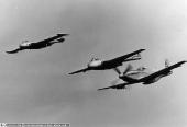 De Havilland D.H. 112 Venom, D.H. 100 Vampire, Mustang P-51
