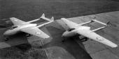 De Havilland D.H. 100 Mk. 6 Vampire J-1005 und J-1008