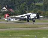 Junkers JU-52 HB-HOS ex A-701