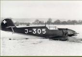 Messerschmitt Me 109 D-1 J-305
