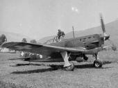 Morane auf dem Flugfeld in Kestenholz 1940