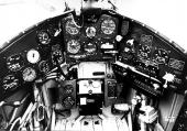 Cockpit Morane-Saulnier D-3800
