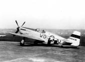 North American P-51B Mustang WD-U