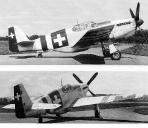 North American P-51B Mustang J-900